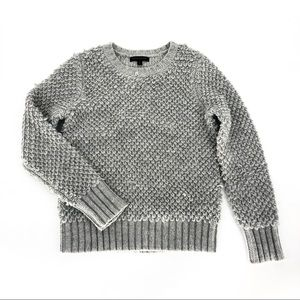 Banana Republic grey crew neck sweater alpaca s